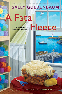 July Authors Who Knit: Sally Goldenbaum 6