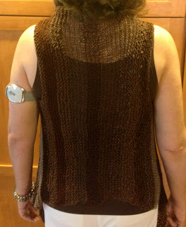 Multi Textured Vest from Fiberwood Studio - Done! 6