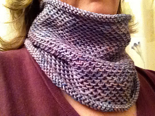 Honey Cowl from Cream City Yarn - DONE! 5