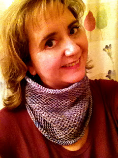 Honey Cowl from Cream City Yarn - DONE! 6