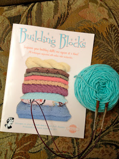 Cables Building Block from Knitting Temptations - Day 1 5