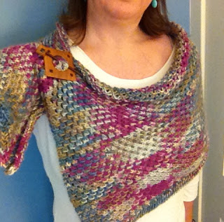 Quirky Bird Knits Lady's Mantle from Knitter's Mercantile - Done! 5