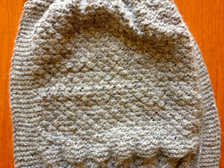 Diana's Aran Shawl from Three Black Sheep - Day 3 7