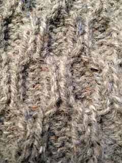 Diana's Aran Shawl from Three Black Sheep - Day 5 6