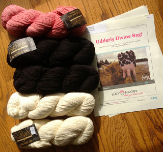 Lucy Neatby's Udderly Divine Bag from Orange Kitten Yarns - Day 1 8