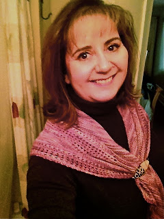 Mapes Shawl from Lovin' Knit - Done! Also: WIN FREE YARN & BOOKS 8