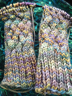 Hiawassee Handwarmers from The Needle Nook - Day 3 6