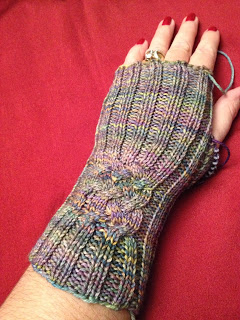 Hiawassee Handwarmers from The Needle Nook - Day 5 1