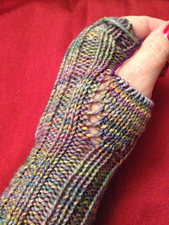 Hiawassee Handwarmers from The Needle Nook - Day 5 3
