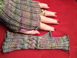 Hiawassee Handwarmers from The Needle Nook - Day 5 2