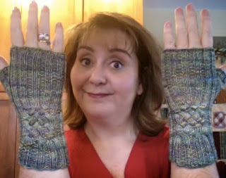 Hiawassee Handwarmers from The Needle Nook - Done! 2