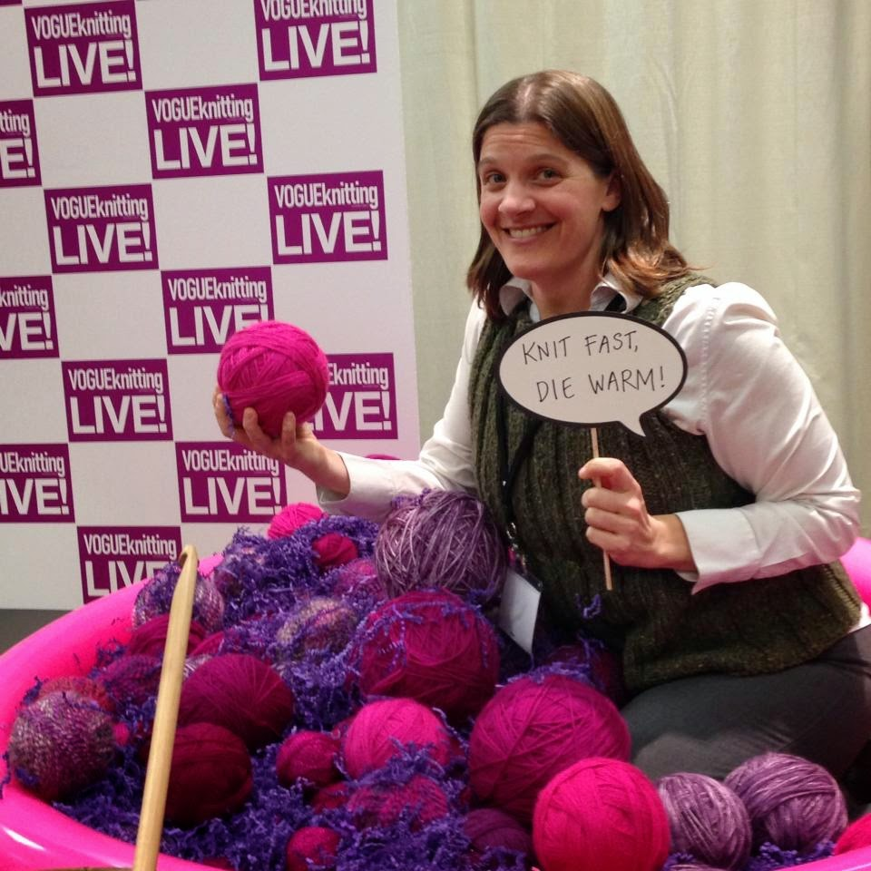 March Industry Professionals Who Knit:  Amy Kaspar 1