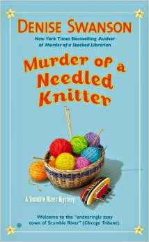 August Authors--and characters!--Who Knit:  Denise Swanson 5