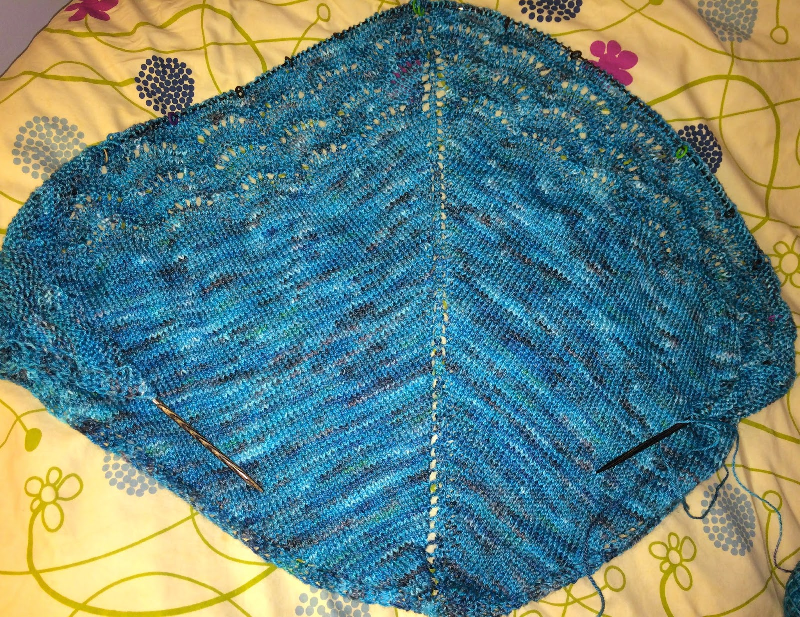 Holden Shawlette from The Artful Yarn - Day 4 6