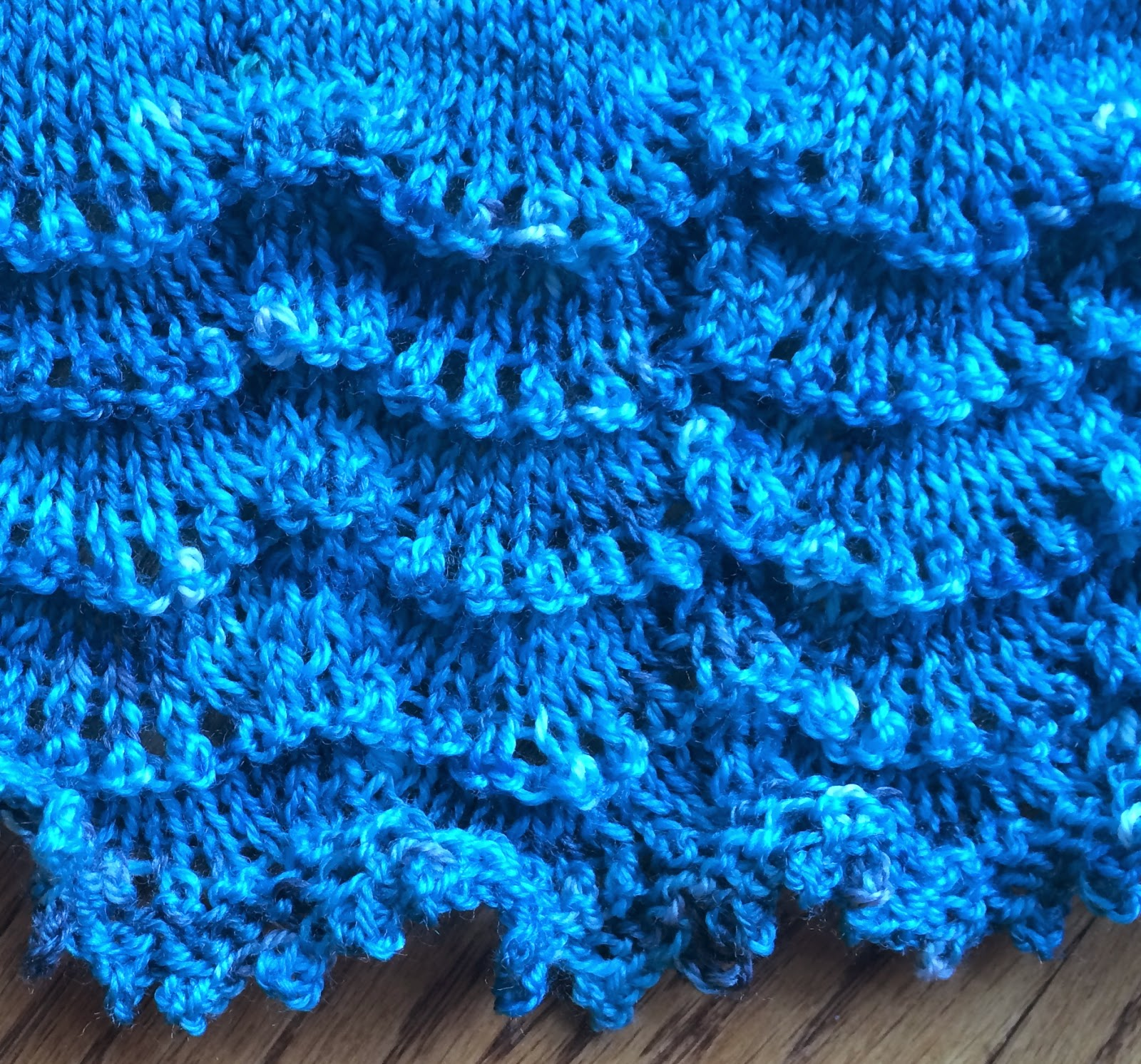 Holden Shawlette from The Artful Yarn - Done! 12
