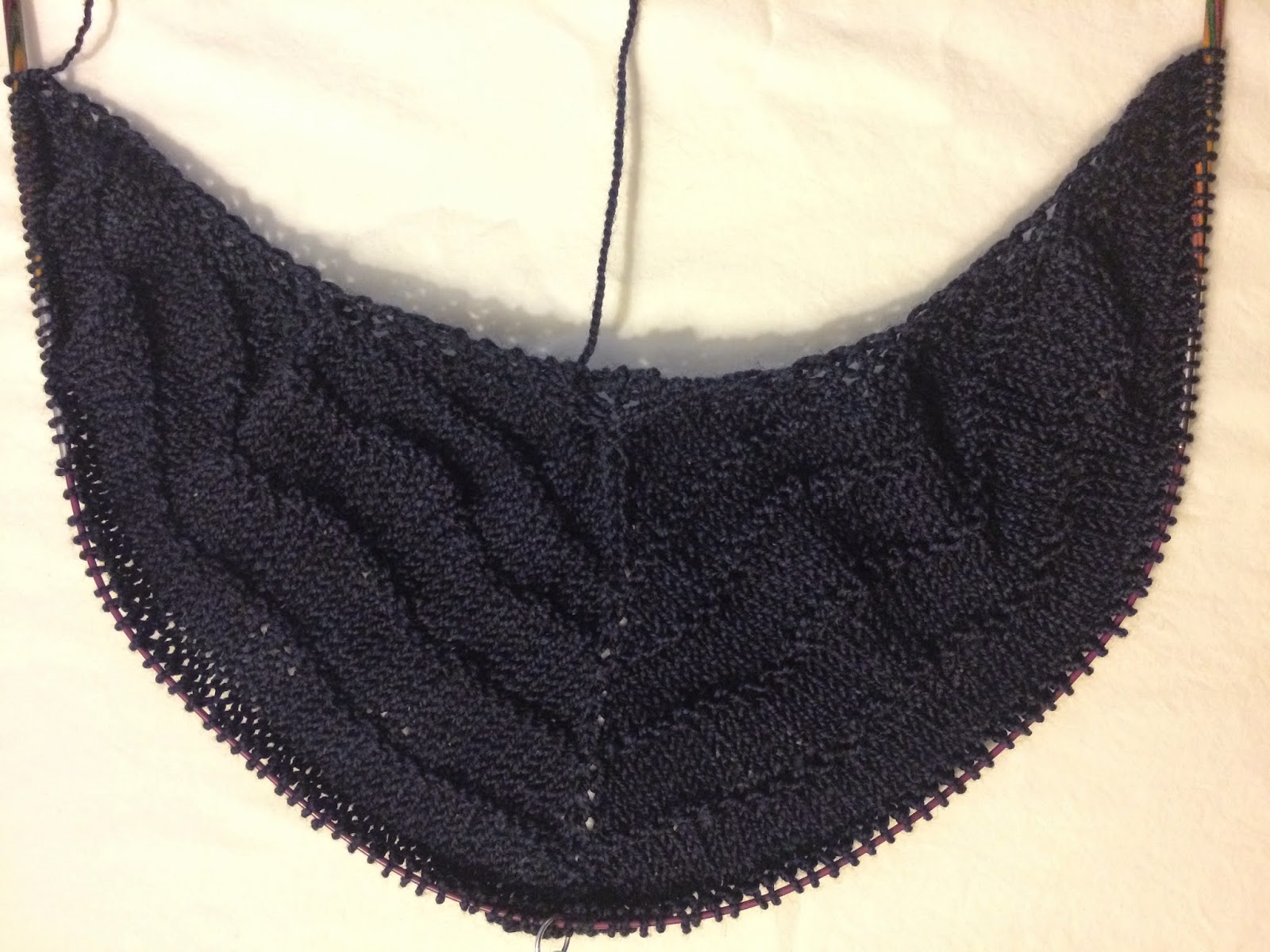 Brush Creek Cowlette from The Knitting Nest - Day 1 1