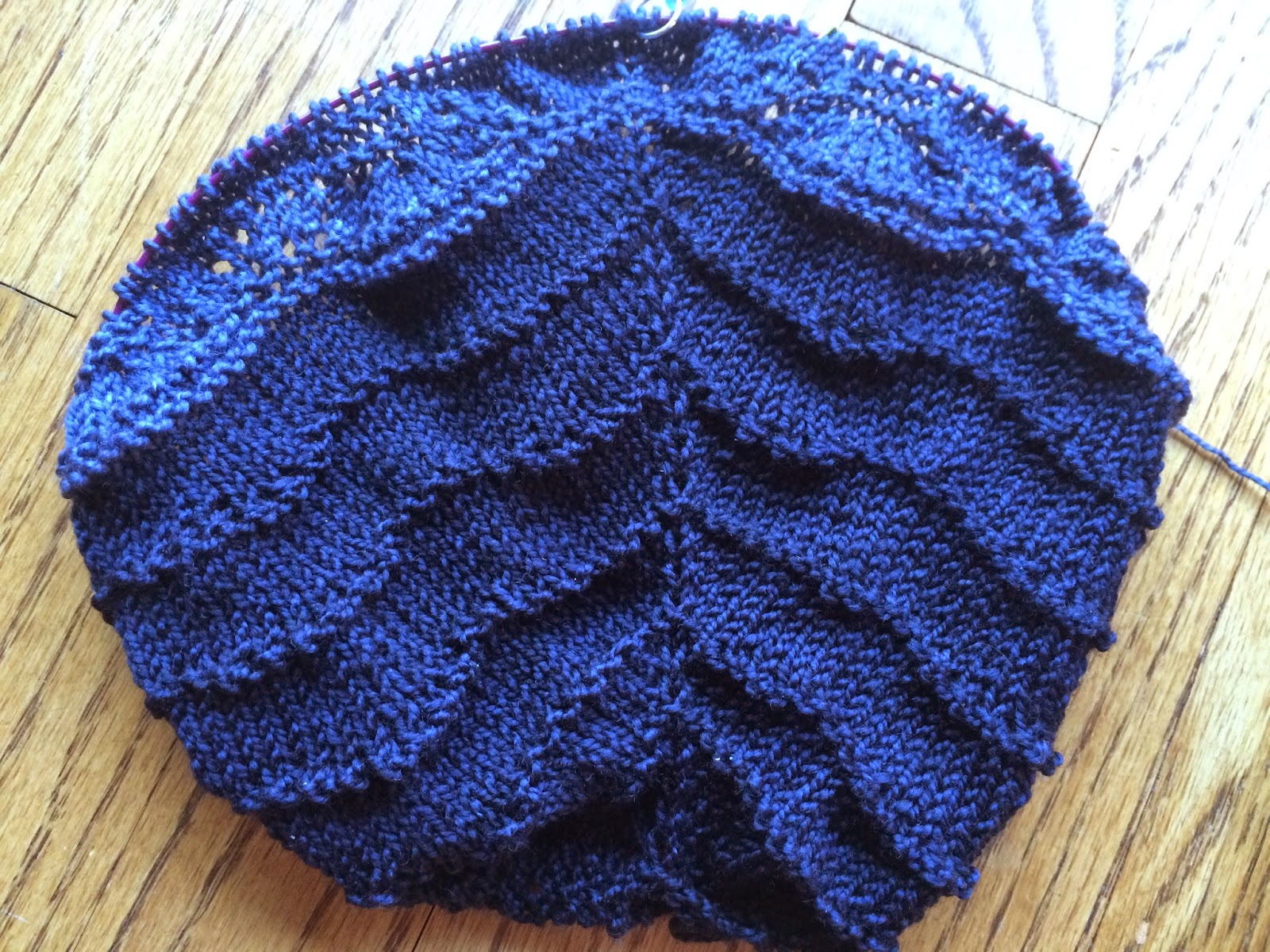 Brush Creek Cowlette from The Knitting Nest - Day 2 2
