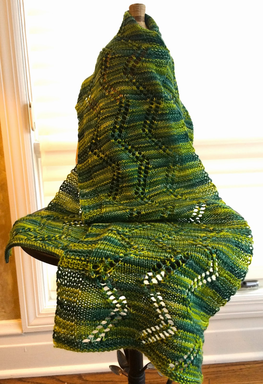 Alexandra Scarf from Gauge Knits - Done! 11