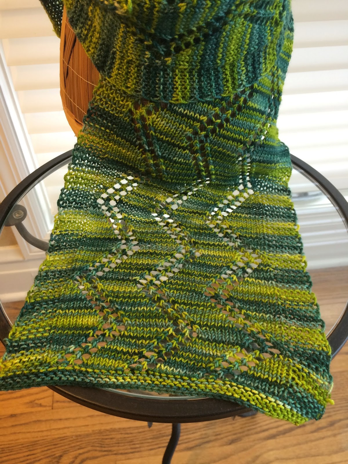 Alexandra Scarf from Gauge Knits - Done! 12