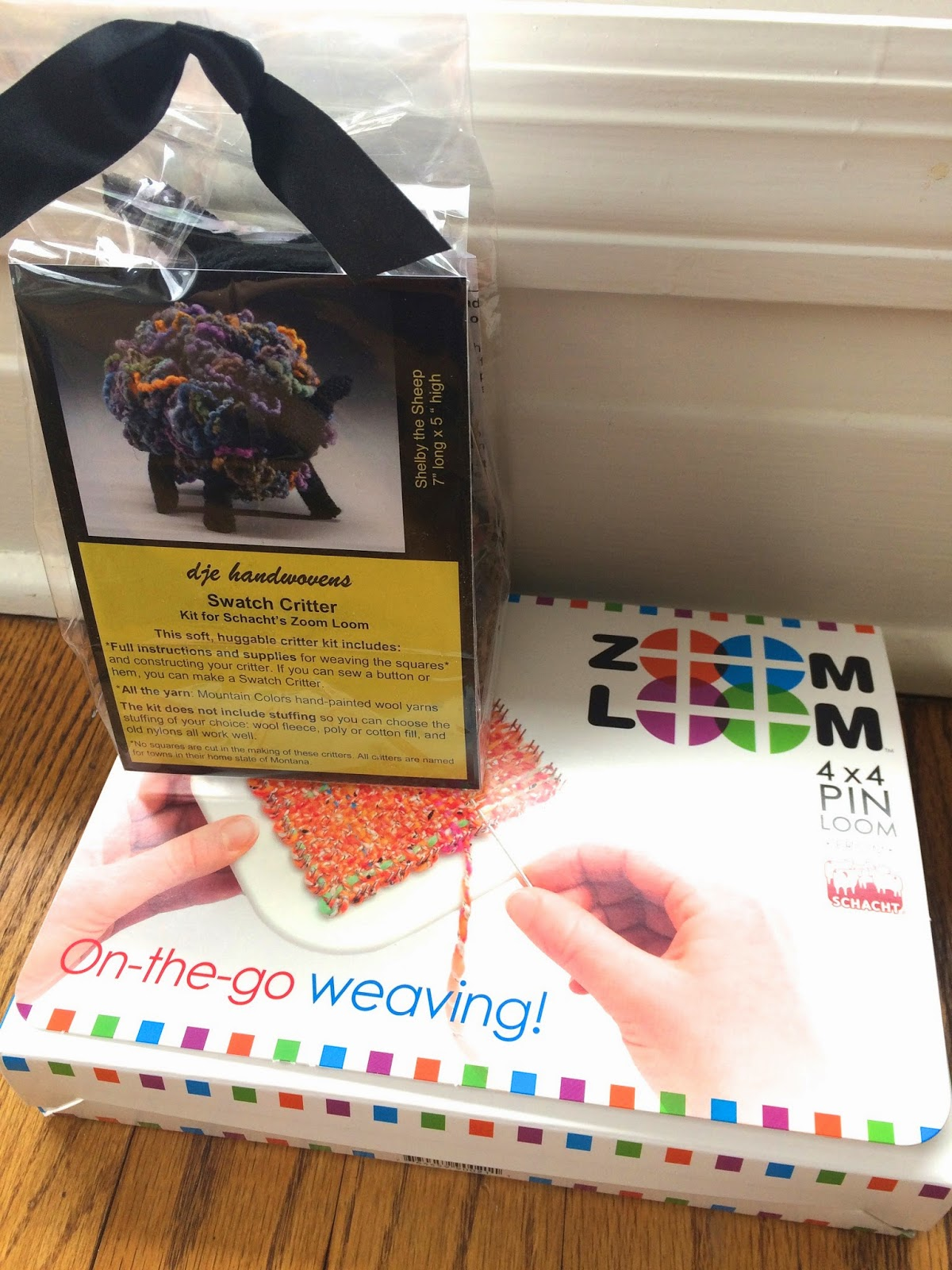 Zoom Loom Shelby Sheep Kit from The Woolery - Day 1 7