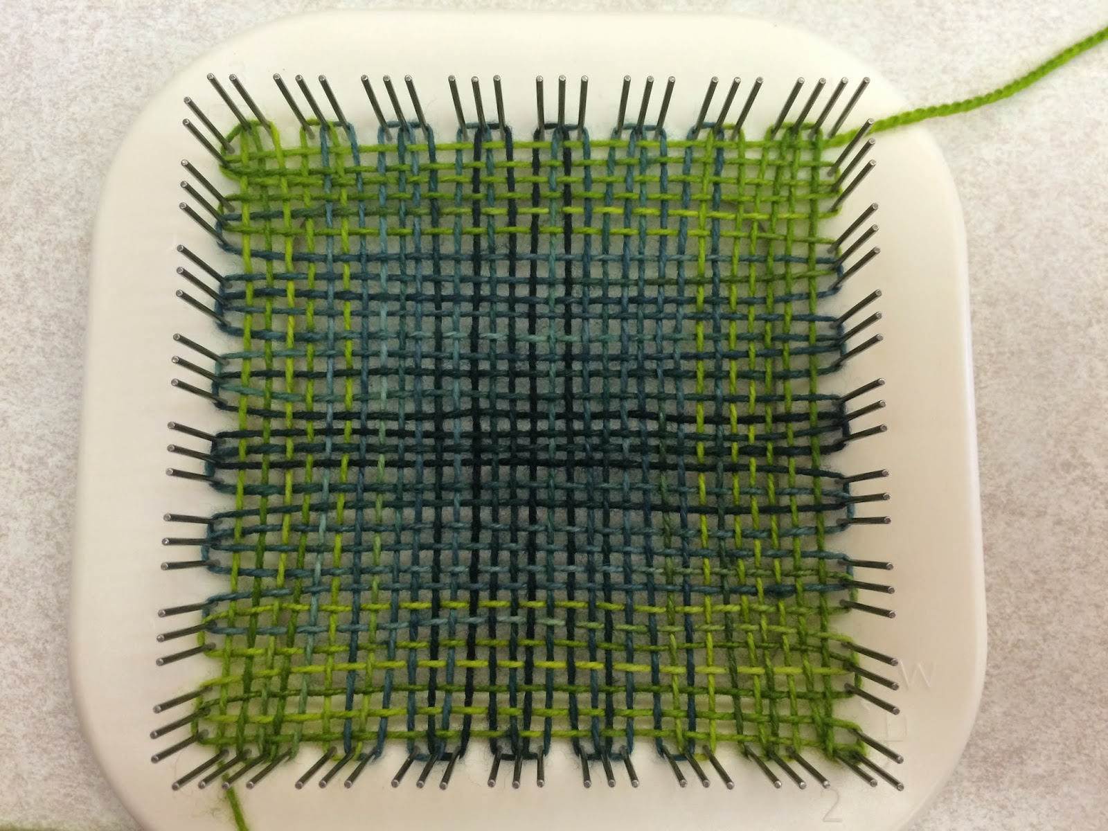 Zoom Loom Shelby Sheep Kit from The Woolery - Day 1 3