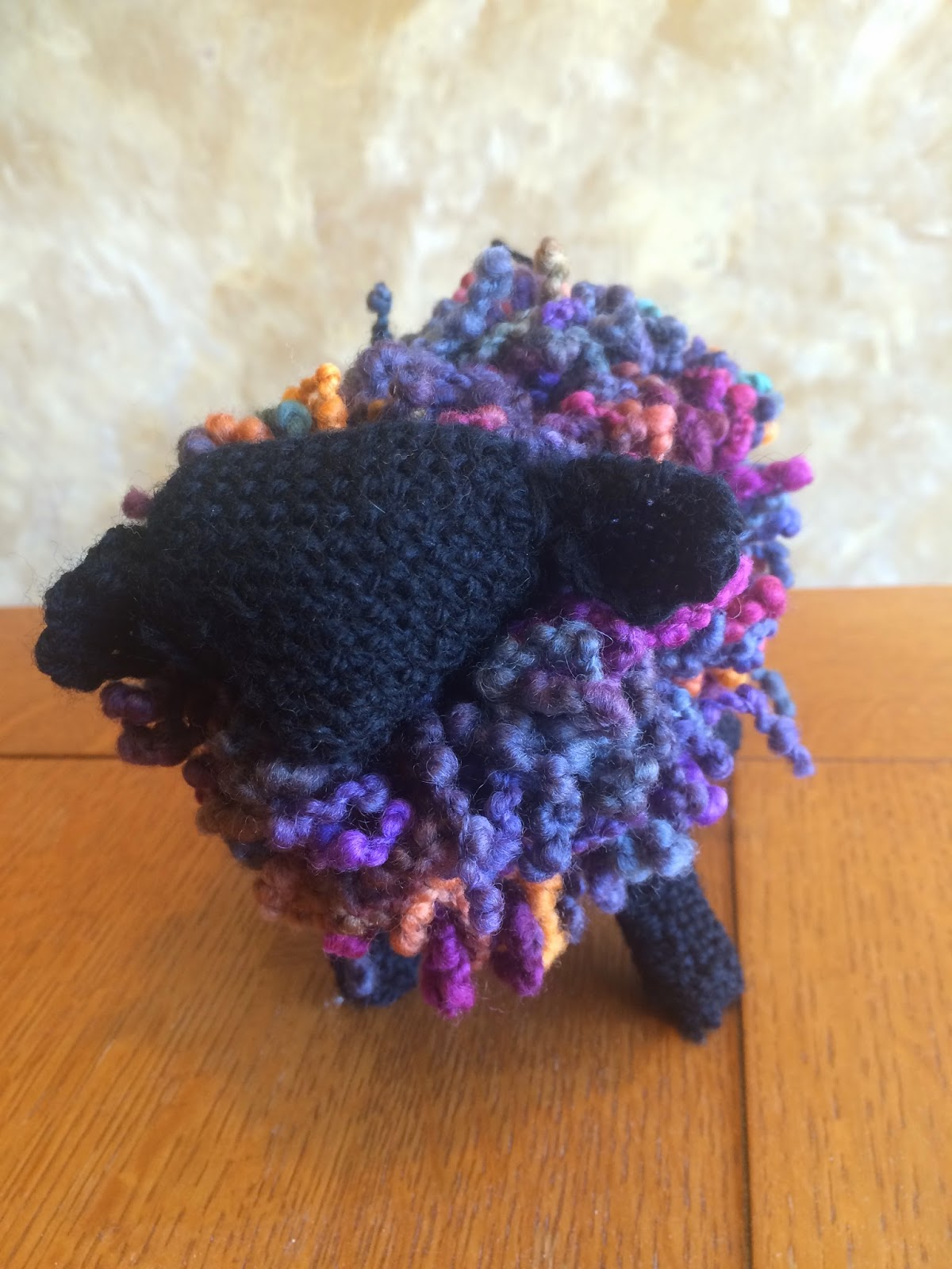 Zoom Loom Shelby Sheep Kit from The Woolery - Done! 7