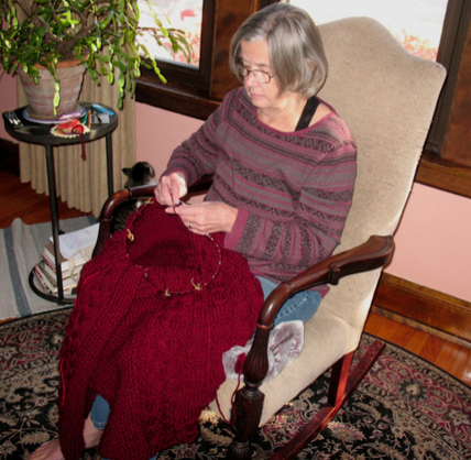 March Readers Who Knit - Nancy Davis 9