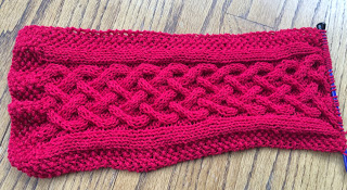 Celtic Princess Braided Scarf from Yarn & Thread Expressions - Day 2 9