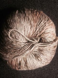 Wavelength Shawl from Holley's Yarn Shoppe - Day 1 5