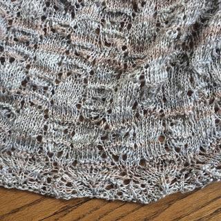 Wavelength Shawl from Holley's Yarn Shoppe - Day 6 6