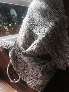 Wavelength Shawl from Holley's Yarn Shoppe - Done! 4
