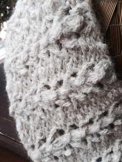 Lace Cowl from Rainbow Yarn & Fibres - Done! 3