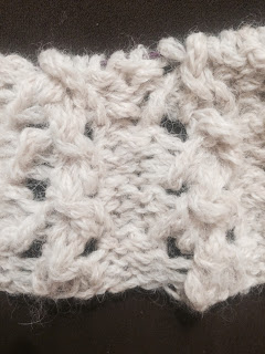 Lace Cowl from Rainbow Yarn & Fibres - Day 3 6