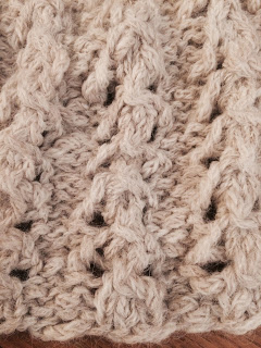 Lace Cowl from Rainbow Yarn & Fibres - Day 4 2