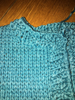 Tofu Baby Sweater from Flying Fingers - Day 5 11