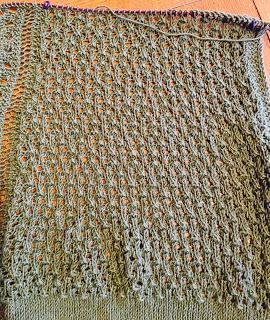 Brassica Shawl from Mosaic Yarn Studio--Day 4 3