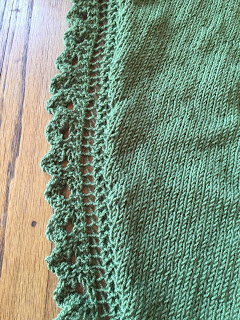 Brassica Shawl from Mosaic Yarn Studio--Day 2 7