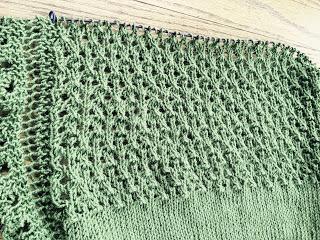 Brassica Shawl from Mosaic Yarn Studio--Day 3 12