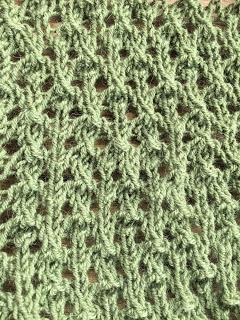 Brassica Shawl from Mosaic Yarn Studio--Day 3 9