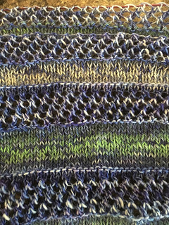 The Fog Shawl from The Fiber Universe--Day 4 5