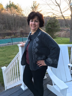 April Reader Who Knits:  Marci Bailey 9