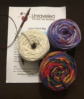 Linen Stitch Bag from Unraveled - Day 1 5