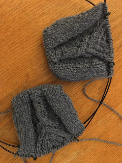 Fili Top Down Convertible Mitts from Unraveled Sheep -- Day 2 6