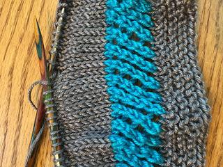 Maverick Cowl from Lucky Ewe Yarn - Day 2 7
