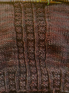 Brick Sidewalk Beanie from fibre space--Day 3 8
