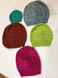 Brick Sidewalk Beanie from fibre space--Day 1 9