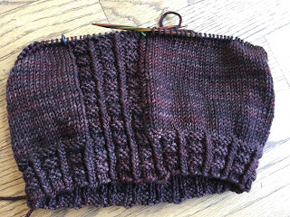 Brick Sidewalk Beanie from fibre space--Day 2 7